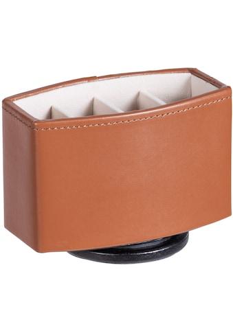 WENKO Aufbewahrungsbox, drehbarer Organizer, in Leder-Optik kaufen