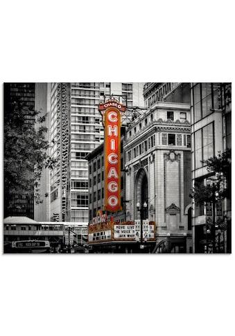 Artland Glasbild »Chicago I«, Amerika, (1 St.) kaufen
