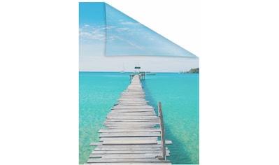 Fensterfolie, »El Mar«, LICHTBLICK, blickdicht, strukturiert kaufen