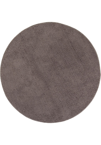 Hochflor - Teppich, »San Donato«, LUXOR living, rund, Höhe 27 mm, maschinell getuftet kaufen
