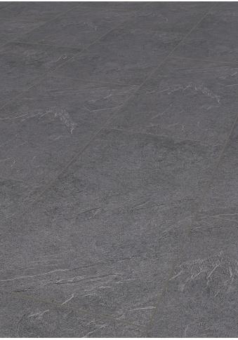 ter Hürne Laminat »Stein anthrazitgrau«, mit fühlbarer Oberfläche und Klicksystem kaufen