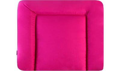 Julius Zöllner Wickelauflage »Softy - uni pink«, Made in Germany kaufen