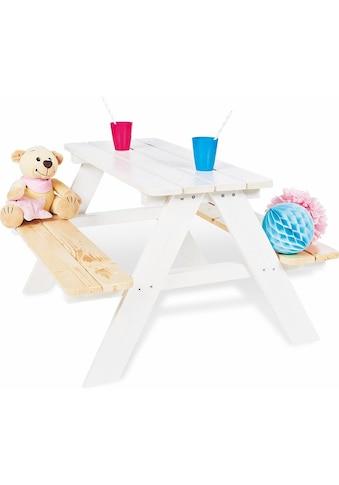 Pinolino® Kindersitzgruppe »Nicki für 4, weiß«, Made in Europe kaufen