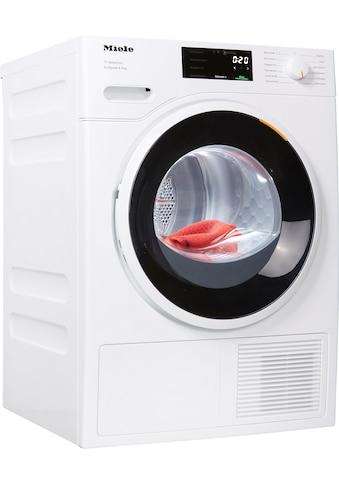 Miele Wärmepumpentrockner T1 White Edition TSF643 WP EcoSpeed&8kg, 8 kg kaufen
