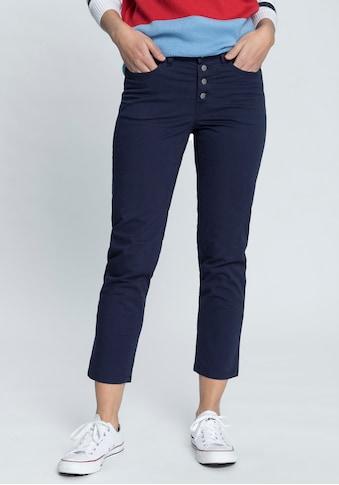 AJC 7/8-Hose, mit modisch sichtbarer Knopfleiste kaufen