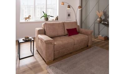 Home affaire Polstergarnitur »Tiny November«, (3 tlg.), Verwandlungsofa: 2 Hocker im Sofa integriert, können separat gestellt werden, Sitzbreite 140 cm kaufen