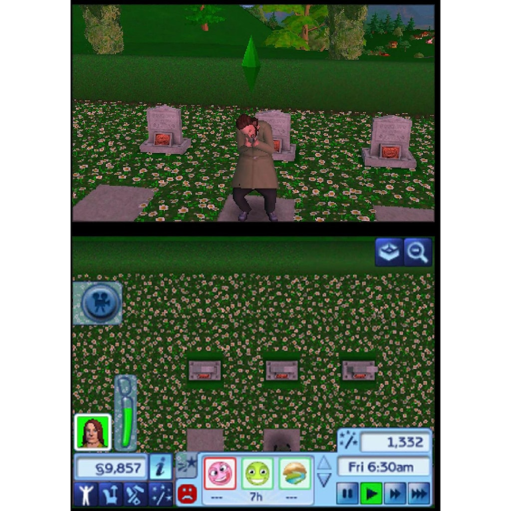 Electronic Arts Spiel »Die Sims 3«, Nintendo 3DS, Software Pyramide