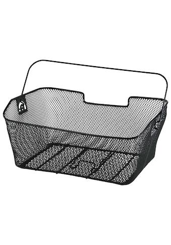 Hama Fahrradkorb für Gepäckträger hinten, abnehmbar, engmaschig kaufen