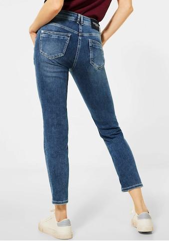 Cecil Ankle-Jeans »Charlize«, mit doppeltem Knopfverschluss kaufen