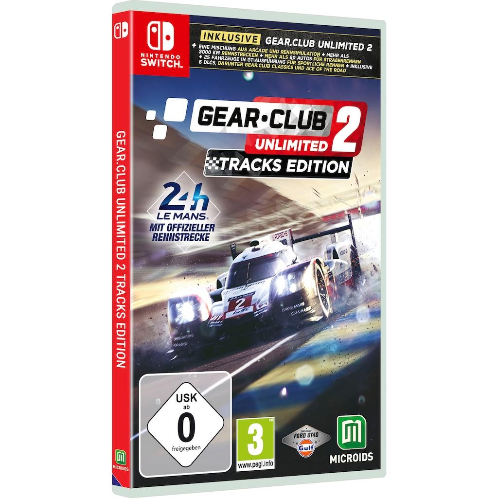 Astragon Spiel »Gear Club Unlimited 2: Tracks Edition«, Nintendo Switch