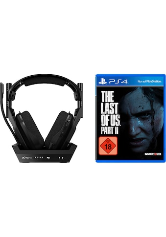 ASTRO Gaming-Headset »A50 Gen4 PS4«, Rauschunterdrückung, inkl. The Last of Us Part II kaufen