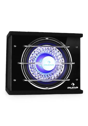 Auna Auto Car HiFi Bassbox Subwoofer 25cm 300W RMS LED Lichteffekt »CB250« kaufen