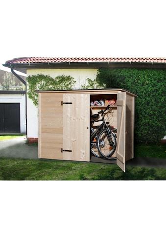 weka Fahrradbox, Mülltonnenbox, BxTxH: 205x84x151 cm kaufen