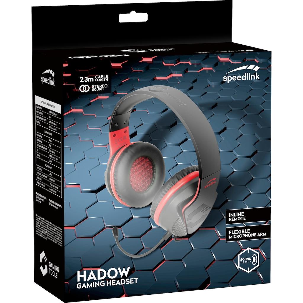 Speedlink Gaming-Headset »HADOW«, Mikrofon abnehmbar