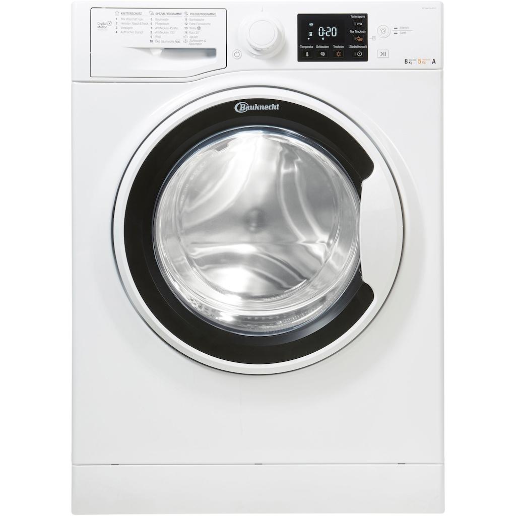 BAUKNECHT Waschtrockner »WT Super Eco 8514«, 55 dB