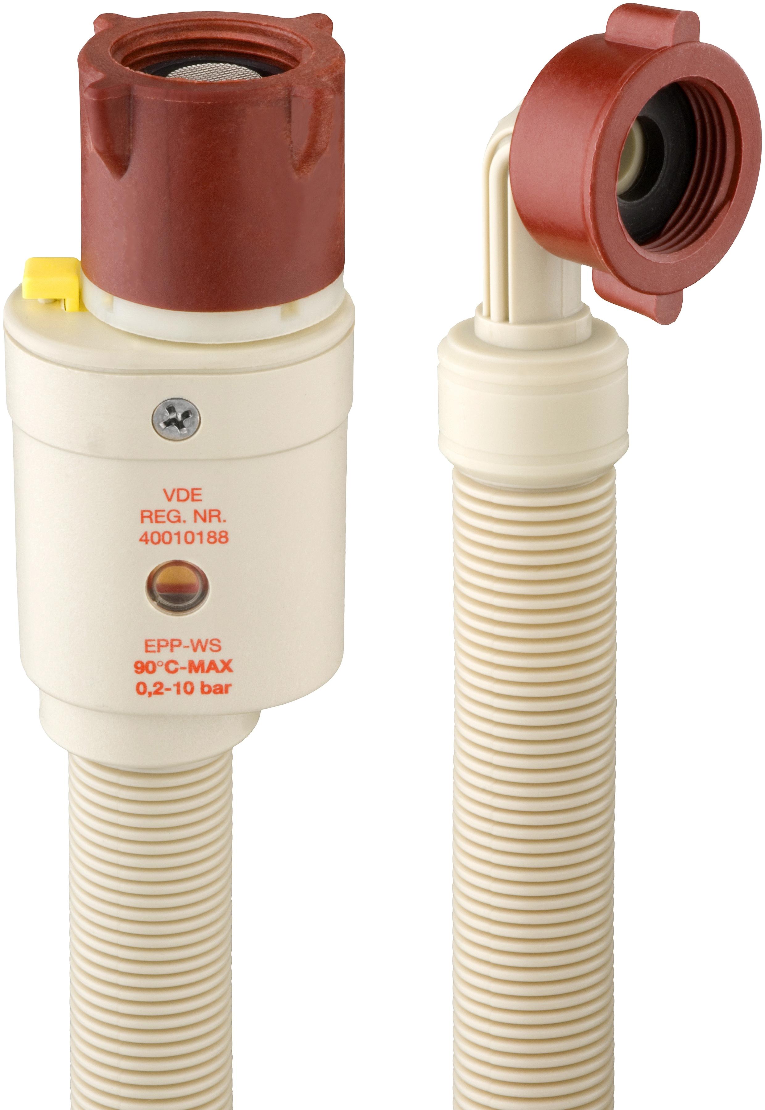 CORNAT Aquastop-Sicherheitsschlauch 2 m | Bad > Waschmaschinen und Trockner > Waschmaschinen Zubehör | Weiß | Kunststoff | CORNAT