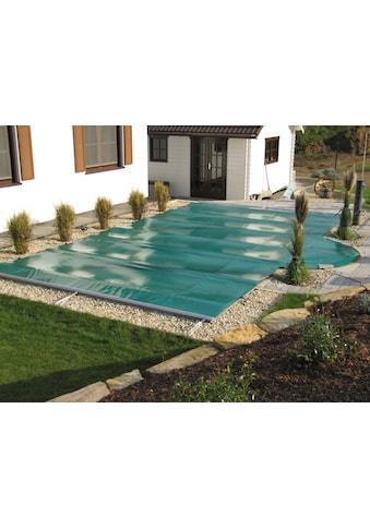 KWAD Pool-Abdeckplane, Rollabdeckung,BxL: 350x650 cm, blau kaufen