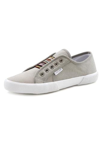 LASCANA Sneaker, mit Farbkontrasten und Gummizug kaufen
