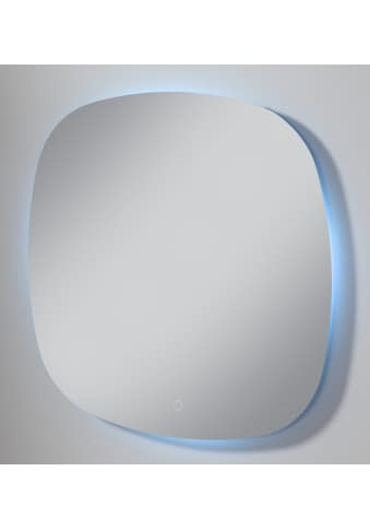 WELLTIME Spiegel »New Trento«, LED - Spiegel, 70 x 70 cm, Touch - Button kaufen