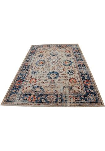 DELAVITA Teppich »Narami«, rechteckig, 8 mm Höhe, Vintage-Optik, Wohnzimmer kaufen
