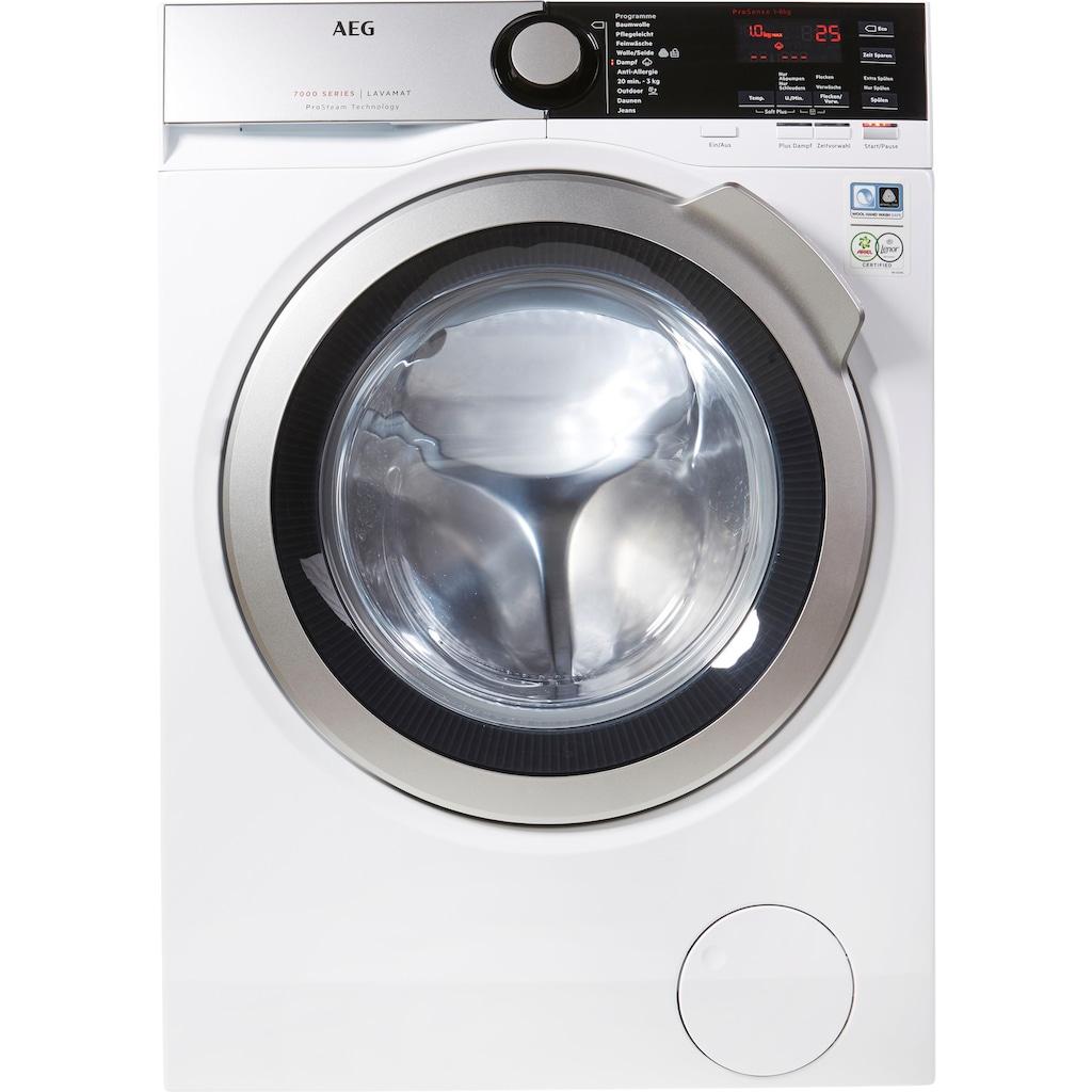 AEG Waschmaschine »L7FE74485«, L7FE74485, ProSteam - Auffrischfunktion