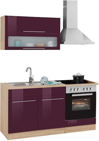 HELD MÖBEL Küchenzeile »Eton«, mit E-Geräten, Breite 160 cm kaufen