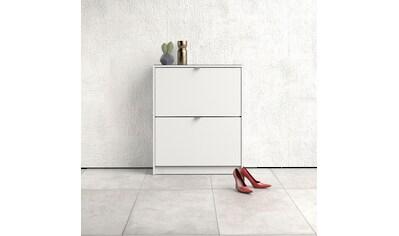 Home affaire Schuhschrank »Shoes«, mit zwei Klappen, in verschiedenen Farbvarianten erhältlich kaufen
