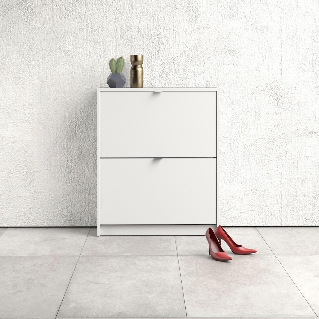 Home affaire Schuhschrank »Shoes«, mit zwei Klappen, in verschiedenen Farbvarianten erhältlich