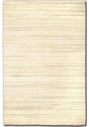 Wollteppich, »GABBEH FEIN UNI«, morgenland, rechteckig, Höhe 18 mm, handgewebt kaufen