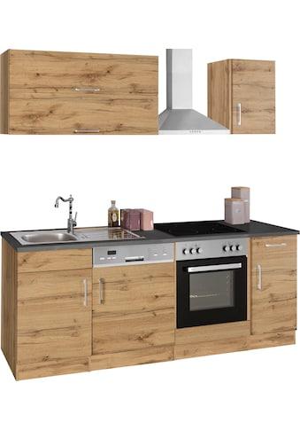 HELD MÖBEL Küchenzeile »Colmar«, ohne E-Geräte, Breite 210 cm kaufen