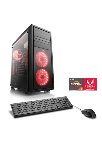 CSL »Sprint T8390 Windows 10 Home« Gaming - PC (AMD, Ryzen 3, Radeon Vega 8) kaufen