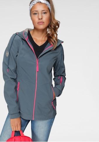 Ocean Sportswear Softshelljacke »aus nachhaltig recycletem Polyester«, mit... kaufen