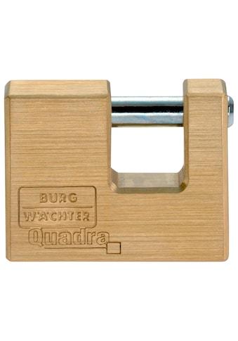 BURG WÄCHTER Vorhangschloss »Quadra 444 50 SB«, Zylinder - Vorhangschloss kaufen
