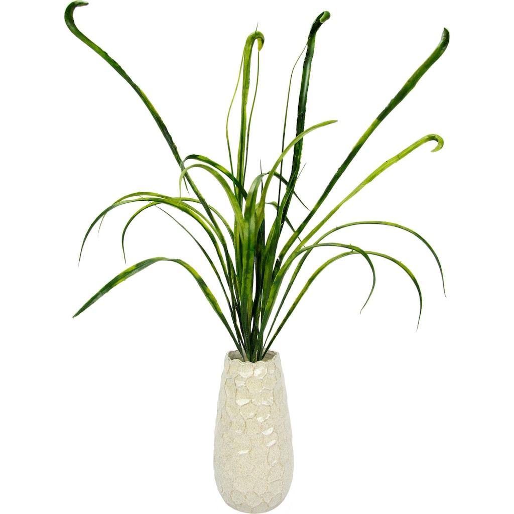 I.GE.A. Kunstgras »Grasbusch«, in Vase