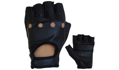 PROANTI Motorradhandschuhe, fingerlose Chopper-Handschuhe aus Leder kaufen