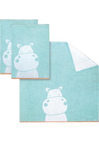 Dyckhoff Handtuch Set »Hippo«, mit niedlichem Nilpferd kaufen