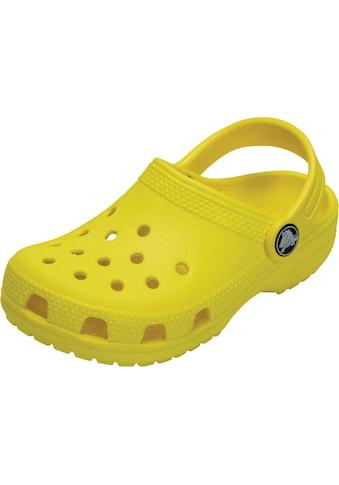 Crocs Clog »Crocs Classic Clog Kids lemon« kaufen