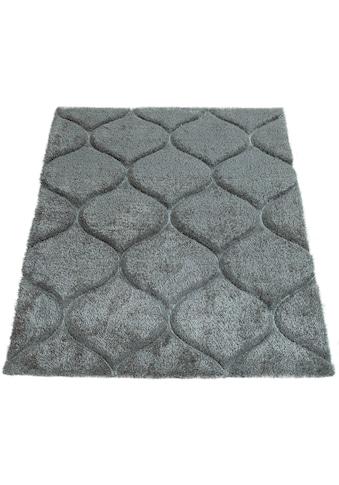 Hochflor - Teppich, »Palma 333«, Paco Home, rechteckig, Höhe 45 mm, maschinell gewebt kaufen