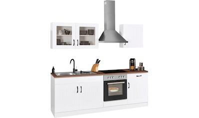 HELD MÖBEL Küchenzeile »Athen«, mit E-Geräten, Breite 210 cm kaufen