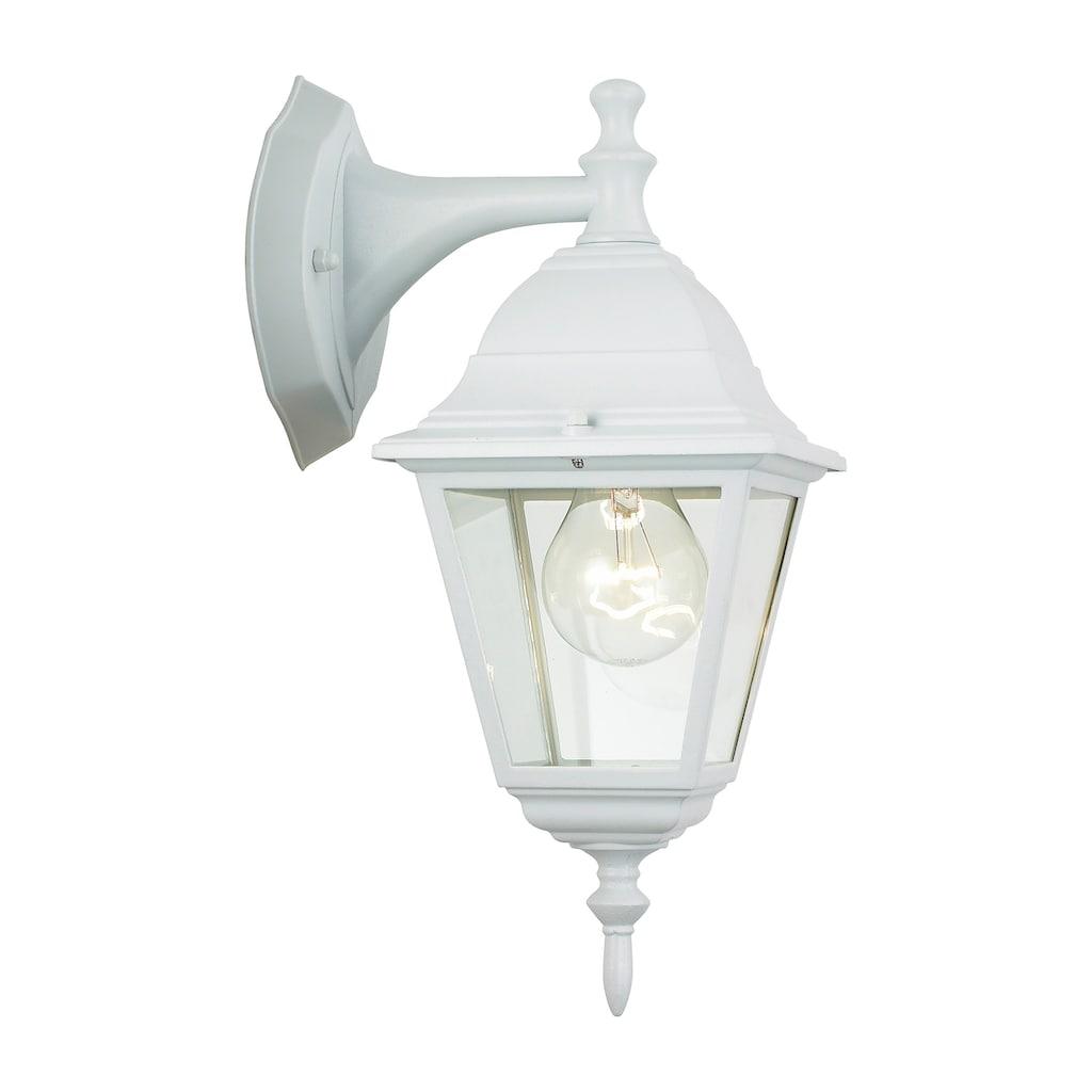 Brilliant Leuchten Newport Außenwandleuchte hängend weiß