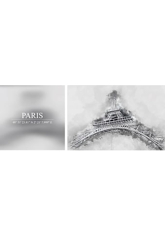 queence Leinwandbild »Paris«, (Set), 2er-Set kaufen