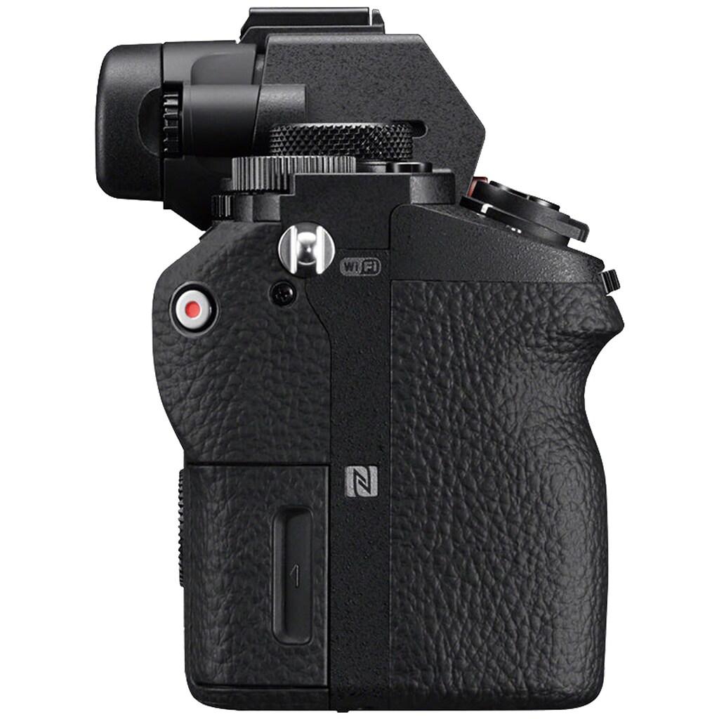 Sony Systemkamera »ILCE-7M2B - Alpha 7 II E-Mount«, 24,3 MP, Exmor CMOS Vollformatsensor, 7,5 cm (3 Zoll) LCD Display, Full HD Video, NFC, WLAN (Wi-Fi), nur Gehäuse