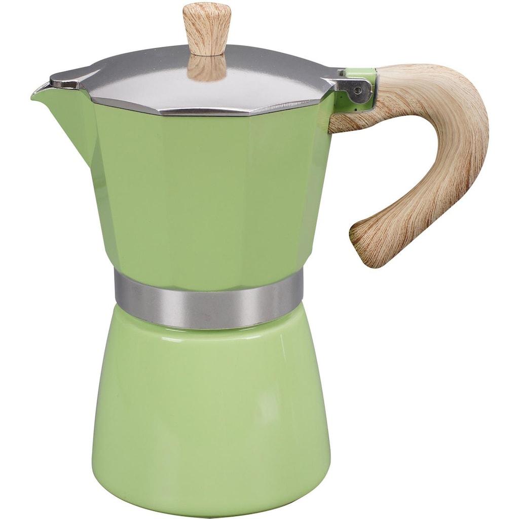 gnali & zani Espressokocher »Venezia«, Induktion, grün