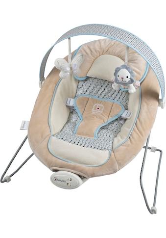BabyGo Babywippe »Cozy, beige«, bis 9 kg, elektrisch, mit Sound und Vibrationsfunktion kaufen