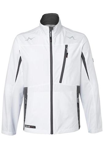 Kübler Softshelljacke »KÜBLER PULSE Ultrashell-Jacke; weiß anthrazit«, weiß anthrazit kaufen