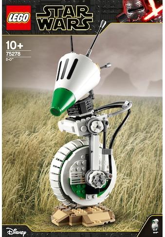LEGO® Konstruktionsspielsteine »D-O™ (75278), LEGO® Star Wars™«, (519 St.) kaufen