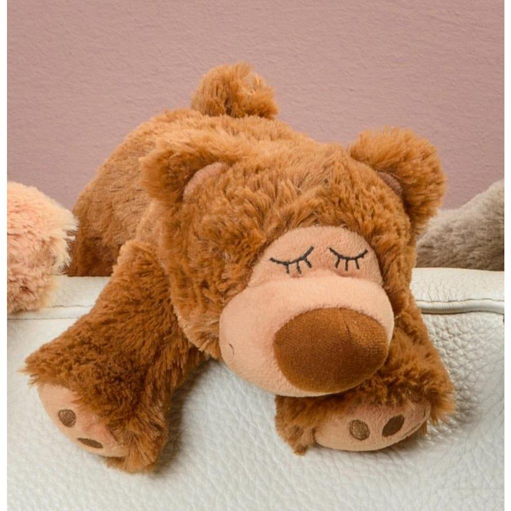 Warmies® Wärmekissen »Sleepy Bear braun, Lavendel«