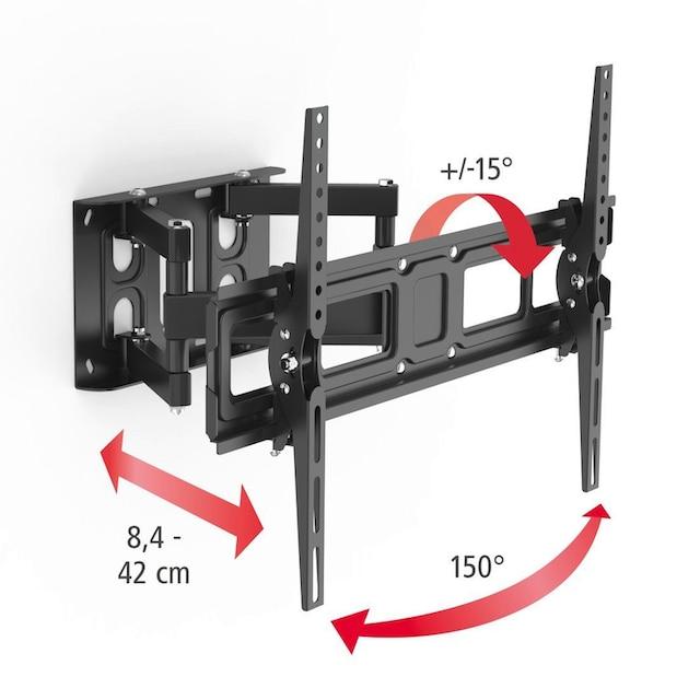 Hama TV Set, Wandhalter schwenkbar, HDMI-Kabel, 3,0 m, Reiniger »FULLMOTION, bis 213cm, 84 Zoll«