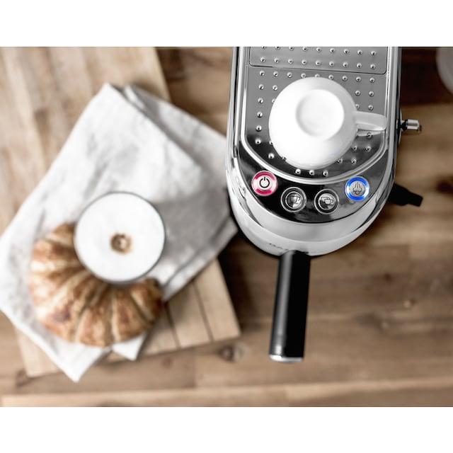 Gastroback Espressomaschine 42717 Design Espresso Piccolo weiß