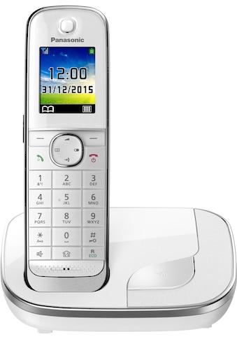 Panasonic Schnurloses DECT-Telefon »KX-TGJ310«, (Mobilteile: 1), Weckfunktion,... kaufen